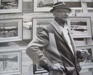 Photo of Canadian artist W.J. Hopkinson