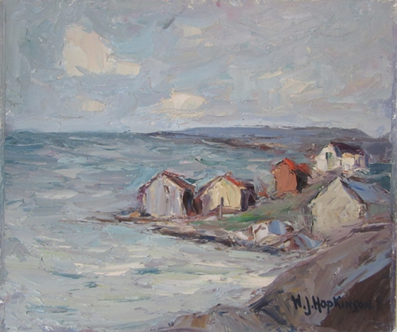 Fishing Shacks, Nova Scotia