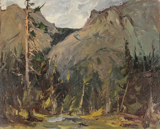 At Seebe, Alberta