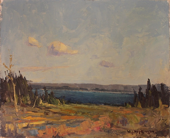 Photo of William John Hopkinson painting for sale of Manitoulin Island, Ontario