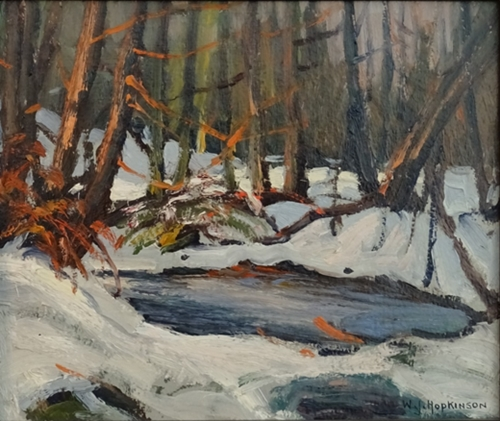 Forest Pond, Winter