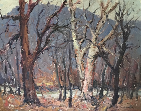 Untitled Woods, Late Fall